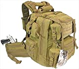 Tactical Backpack - Explorer Tactical Bag, CT Tan, 20 x 11.50 x 11-Inch