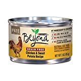 Purina Beyond Natural Canned Cat Food, Grain Free, Chicken and Sweet Potato Recipe, 3-Ounce Can, Pack of 12 Reviews