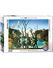"Eurographics""Salvador Dali Swans Reflecting Elefant"" pussel (1 000, flerfärgad)"