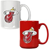 NBA Two Piece Ceramic Mug Set - Primary Logo by Great American Products