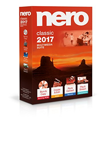 Nero 2017 Classic (Blu Ray Rip Software compare prices)