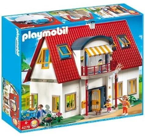 PLAYMOBIL - Casa Moderna, Set de Juego (4279): Amazon.es: Juguetes y juegos