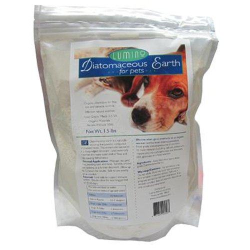 Lumino Organic Diatomaceous Earth For Pets 1.5 lb