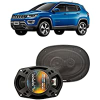 Fits Jeep Compass 2007-2017 Front Door Factory Replacement Harmony HA-R69 Speakers New