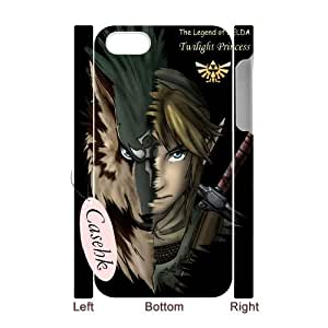 Casehk Cheap Durable Case Cover for iPhone 4,iPhone 4S, Hot Sale The Legend Of Zelda iPhone 4,iPhone 4S 3D Case, The Legend Of Zelda DIY Shell Phone Case