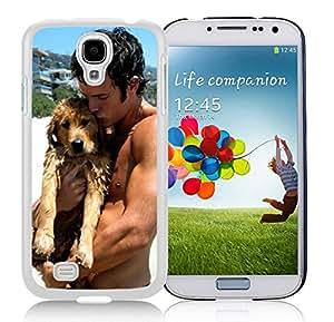 New Unique Designed Cover Case For Samsung Galaxy S4 I9500 i337 M919 i545 r970 l720 With josh hutcherson With Dog Samsung Galaxy S4 White Phone Case 213