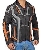 Decrum Iron Man Zipper Hoodie Camouflage Jacket Mens Infinity War Merchandise | Camouflage, M