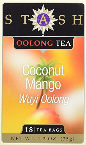 Stash Tea - Coconut Mango Oolong Tea (18 Bags) (Stash Mango Tea)