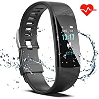 Saikee Fitness Tracker, Activity Tracker Watch with Heart...