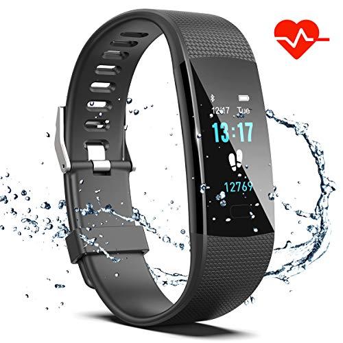 Saikee Fitness Tracker, Activity Tracker Watch with Heart Ra