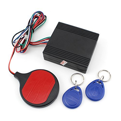 Chinatera Motorcycle Bike Smart IC Card Sensor Alarm Invisible Lock Immobilizer Security Lock Anti-theft Device