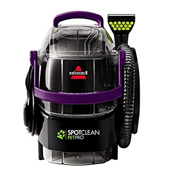 Image of BISSELL SpotClean Pet Pro Portable Carpet Cleaner, 2458 Home and Kitchen