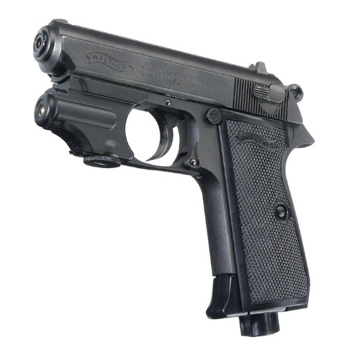 Umarex Walther PPK.177 BB Blued with Laser