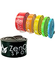 ZenBands Power Pull Up Resistance Band I Fitness-Band in 6 Stärken inkl. GRATIS E-Book & Workout-Guide I Das Premium Widerstandsband für Crossfit, Krafttraining, Stretching & Klimmzug-Hilfe