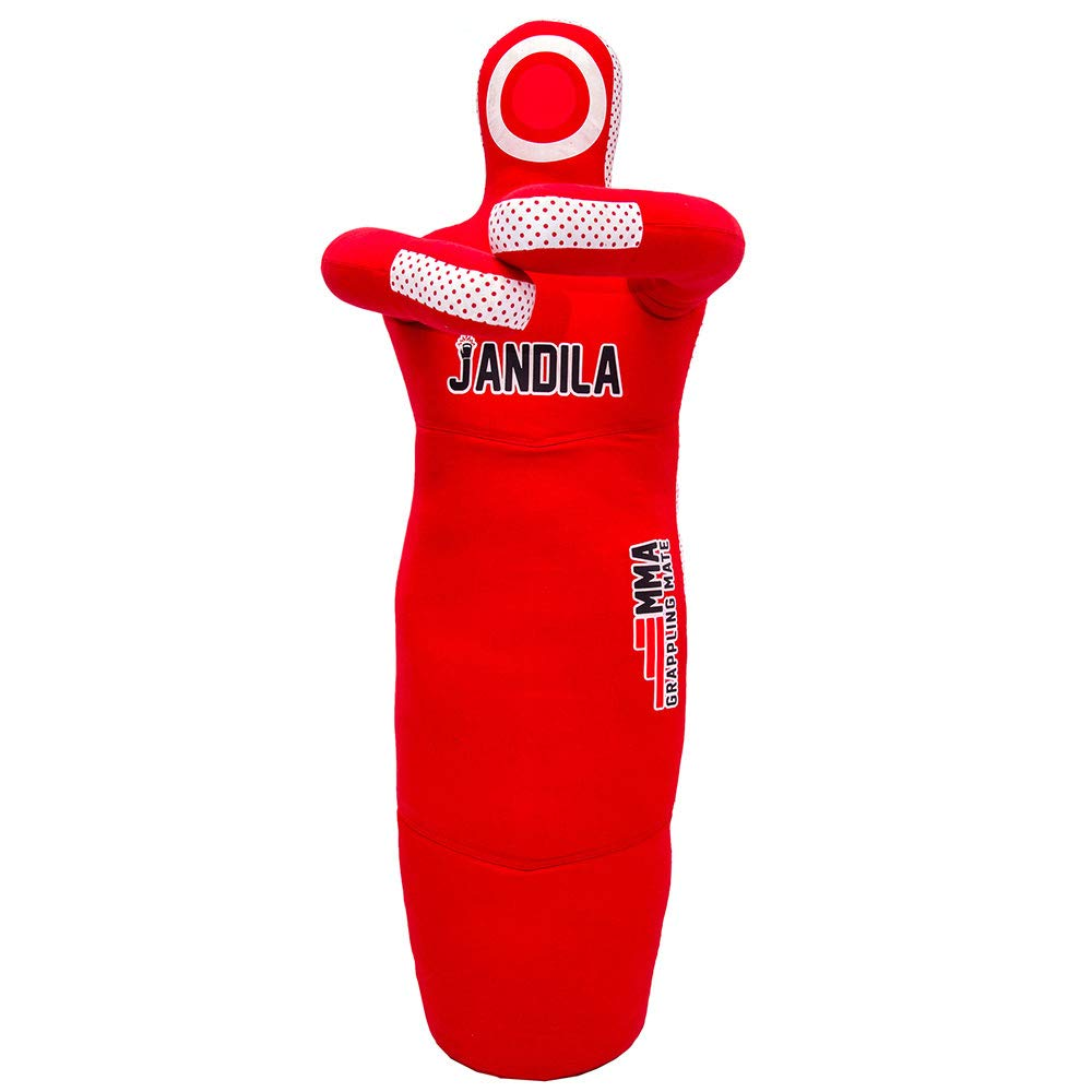 Grappling Dummy Throwing Dummy MMA Jiu Jitsu MMA Dummy for Multiple Movement Drills Made from Durable Canvas Fabrics Punching Bag UNFILLED