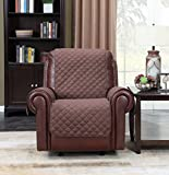 Home Queen Waterproof Couch Slipcover Single Chair Covers, Non-Slip Sofa Protector, Cat Proof