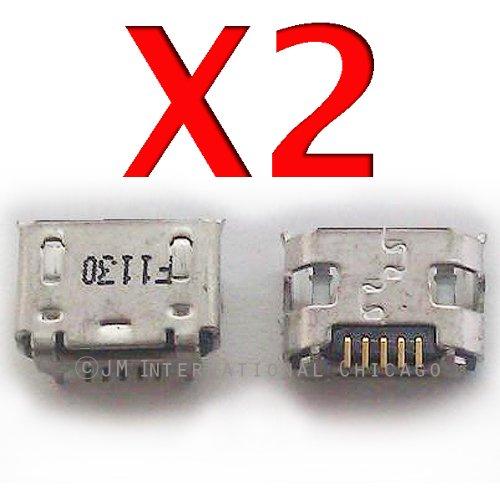 ePartSolution-2 X Motorola Droid RAZR MAXX XT912 XT910 Charging Port Dock Connector USB Port Repair Part USA Seller -  JM Int'L, 1010-308+3