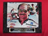 Dale Earnhardt Sr #3 THE INTIMIDATOR Collector Plaque #4 w/8x10 CLOSE UP Photo!