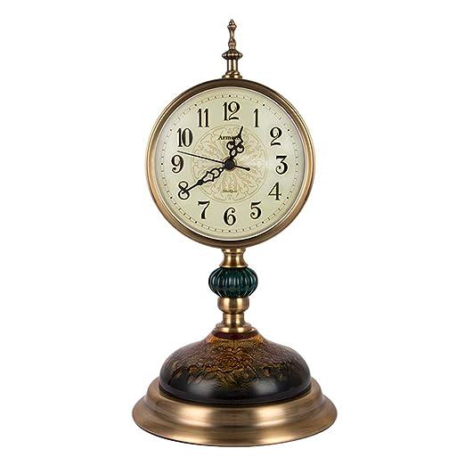 Decdeal - Reloj de Mesa, Base Antideslizante, silencioso, escaneo ...