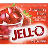 JELL-O Jelly Powder, Strawberry, 24 Count, 2040g