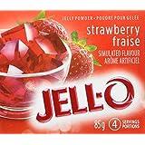 JELL-O Jelly Powder - Strawberry 170G x 24