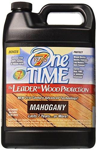Mahogany Gallon - BOND DISTRIBUTING LTD 01200 01200 Gallon Mahogany Stain/Sealer, 4 g