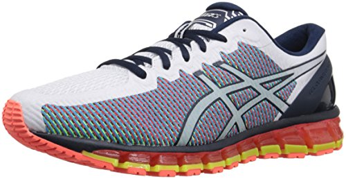ASICS Men Gel-Quantum 360 White/Dark Navy/Safety Yellow