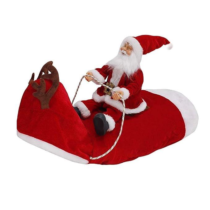 Amazon.com: Disfraz de Papá Noel para perros pequeños y ...