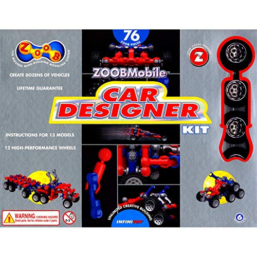 (ZOOBMobile Car Designer Kit)