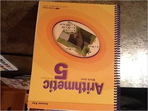 arithmetic 5 work-text a beka book