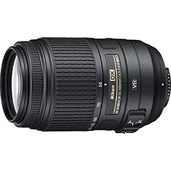 Nikon 55-300mm F4.5-5.6g Ed Vr Af-s Dx Nikkor Zoom Lens For Nikon Digital Slr 0