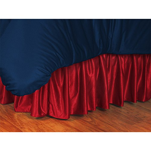 Iowa State Queen Bedskirt - Sports Coverage College Bed skirt