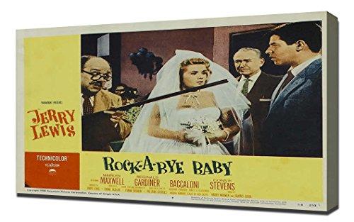 Baby Rockabye Furniture (Poster - Rock-a-Bye Baby_08 - Canvas Art Print)