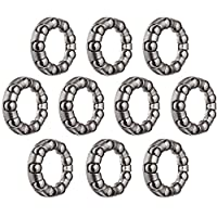 Ruedas que fabrican retenedor de bola 1/4 x 9 (bolsa de 10)