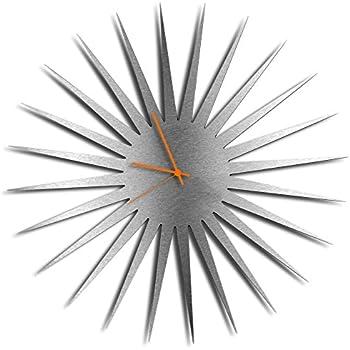 Amazon Com Mid Century Decor Mcm Starburst Clock