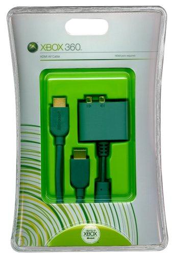 Amazon com: X360 HDMI AV Cable: Video Games