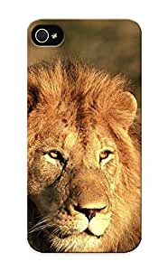 Improviselike Anti-scratch And Shatterproof Hunting Lion Phone Case For Iphone 5/5s/ High Quality Tpu Case