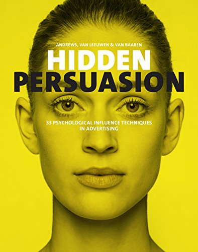Pdf eBooks Hidden Persuasion: 33 psychological influence techniques in advertising