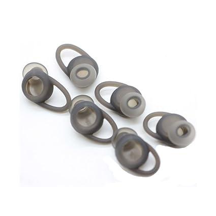 lovinstar tapones de silicona para Meizu EP51 inalámbrico Bluetooth auriculares almohadillas Gel SML 3 pares