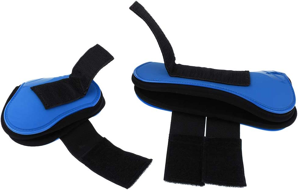 for Training Eventing Lightweight Breathable and Impact-Absorbing Riding Jumping Royal Blue Prettyia Horse Boots