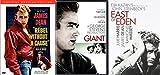 James Dean DVD Collection - East of Eden (2-Disc Set), Giant & Rebel Without a Cause (2-Disck Set) 3-Movie Bundle