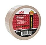 Ace Roll Removable Roll L 20 Polyethylene Coated Cloth Beige
