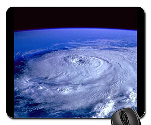 Mouse Pad - Hurricane Earth Satellite Tracking Satellite - Shipping Epacket Tracking