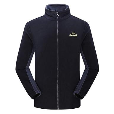 TR-Henrseg Women Men`S Soft Shell Fleece Denim Blue Hoodies Outwear wear Sweatshirt