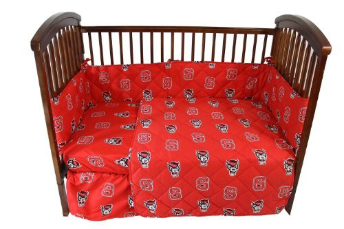 College Covers North Carolina State Wolfpack 5 piece Baby Crib Set by College Covers