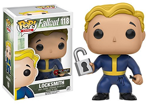 Funko POP! Fallout: Locksmith - Play & Collect Exclusive Vinyl Figure 118 NEW -