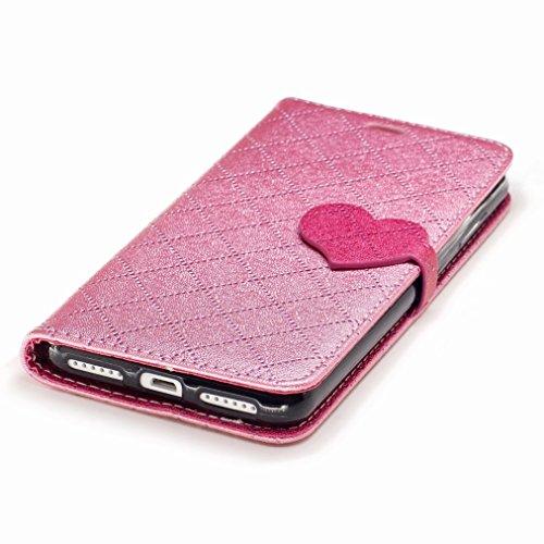 Yiizy Huawei Y5II / Huawei Y5 2 / Honor 5 / Honor Play 5 Custodia Cover, Amare Design Sottile Flip Portafoglio PU Pelle Cuoio Copertura Shell Case Slot Schede Cavalletto Stile Libro Bumper Protettivo