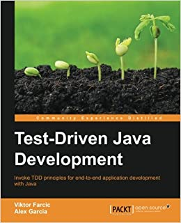 Book Test-Driven Java Development