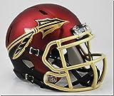 fsu football helmet - New Riddell Florida State FSU Seminoles Garnet Alternate Speed Mini Football Helmet