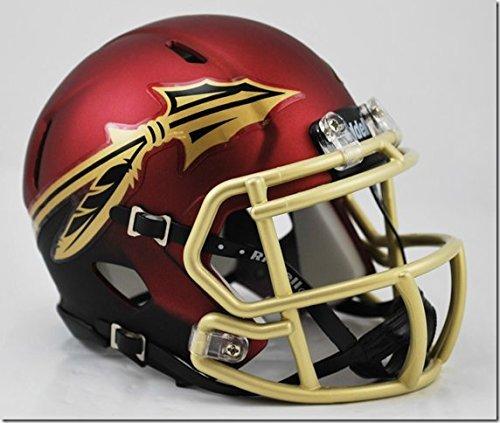 New Riddell Florida State FSU Seminoles Garnet Alternate Speed Mini Football Helmet